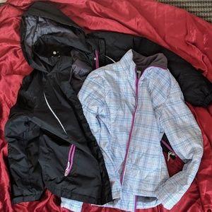 Athletech winter coat w/ fall jacket inside